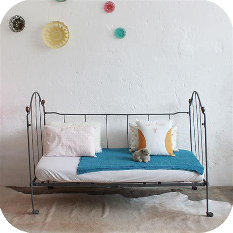 mobilier vintage lit b 233 b 233 m 233 tal fer forg 233 vintage atelier du petit parc