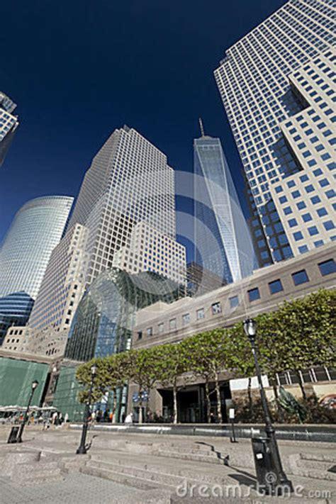 New York, USA - Freedom Tower In Lower Manhattan Editorial ...