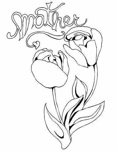 Coloring Mother Pages Magazine Mothers Interactive