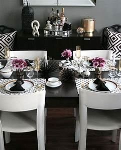 Coastal Glam Dining Room