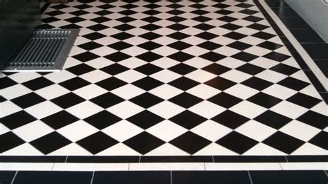 Black And White Floor Tiles gallery of tile installations photos of floor