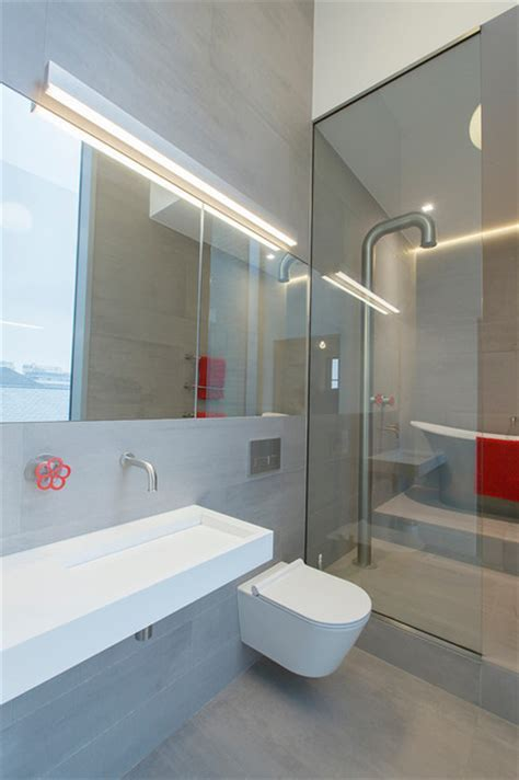 Kennington Water Tower   Contemporary   Bathroom   London
