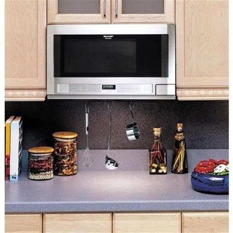 rt sharp  cu ft   counter microwave