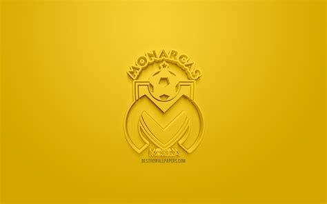 Download wallpapers Monarcas Morelia, creative 3D logo ...