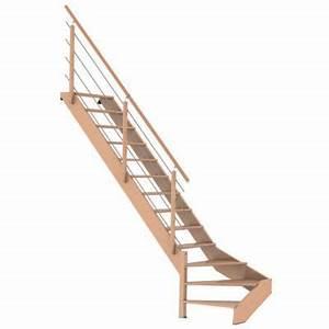 Escalier 1 4 Tournant Gauche : escalier 1 4 tournant gauche novah castorama ~ Dode.kayakingforconservation.com Idées de Décoration