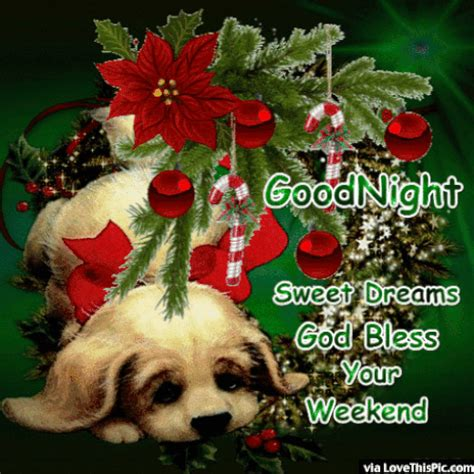 goodnight enjoy  weekend god bless christmas quote