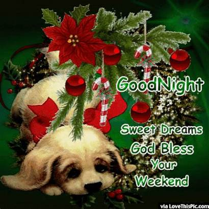 Bless God Christmas Goodnight Weekend Enjoy Quote