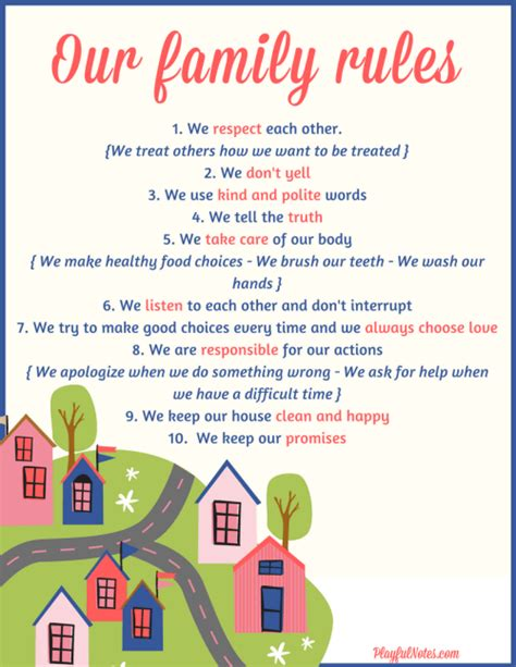 how to create family that will be happy to 539 | family rules 2