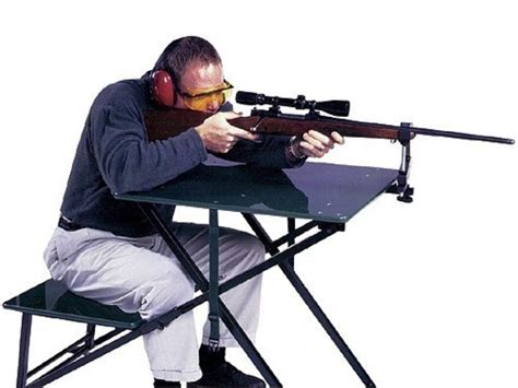 portable shooting table san angelo sure portable shooting bench