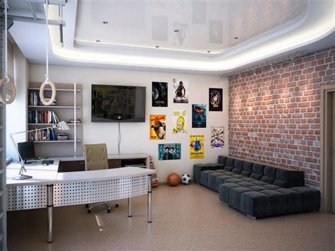 chambre ado gar n moderne 55 idées d 39 intérieur pour une chambre d 39 un garçon adolescent