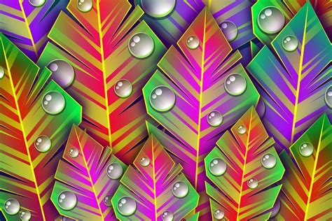 Wallpaper : leaves symmetry green pattern circle