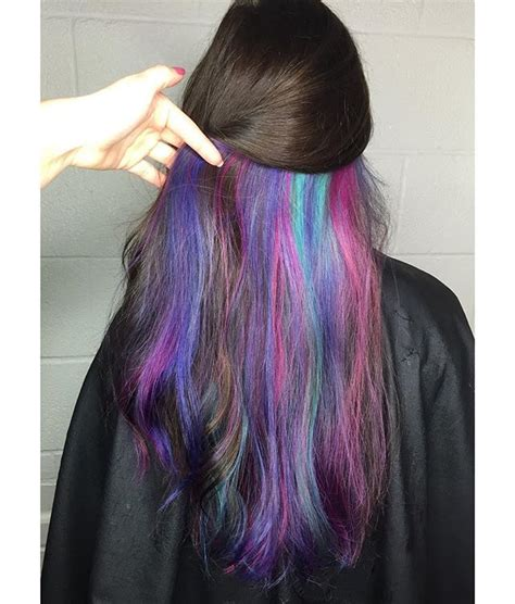 25 Best Ideas About Pink Peekaboo Hair On Pinterest