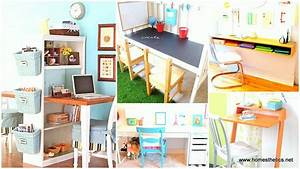 18 diy desks ideas that will enhance your home office for Diy office desk ideas for your home office
