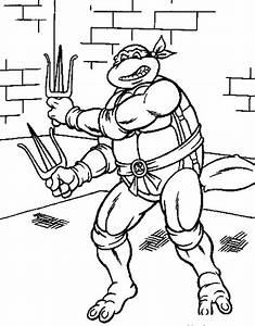 Free Teenage Mutant Ninja Turtles Coloring Pages For Kids