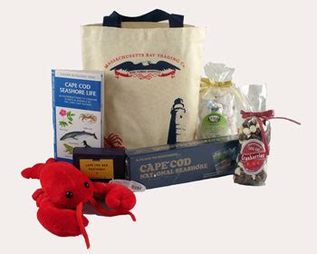 Cape Cod Tote Bag Gift Set Cape Cod And Boston Gifts From