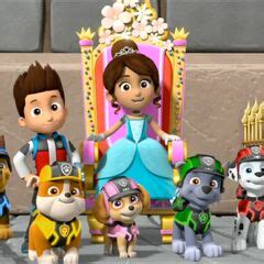 sweetiegallerymission paw pups save  royal throne