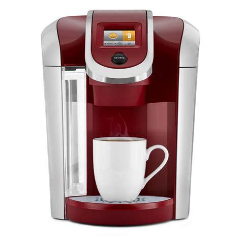 Register your coffee maker and get 50% off your next beverage order! Keurig K425 Plus Single Serve Coffee Maker-119288 - The Home Depot