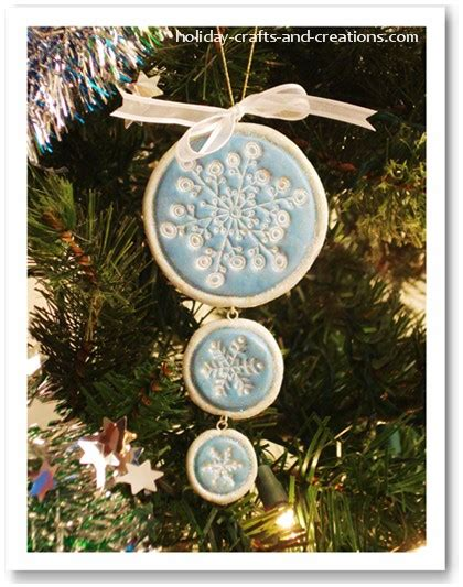 easy to make christmas ornaments sted clay ornament