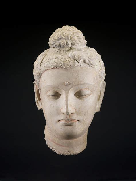 Head of a Buddha   Saint Louis Art Museum