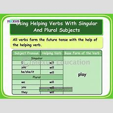 Verbs Future Tense Youtube