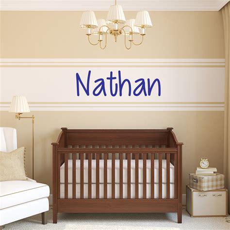 stickers chambre bébé personnalisé sticker prénom personnalisé scolaire charmant stickers