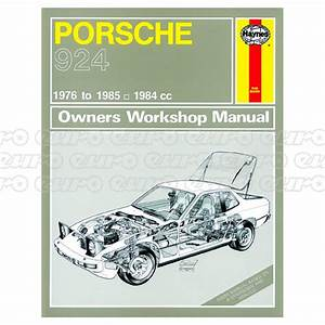 Haynes Workshop Manual Porsche 924  U0026 924 Turbo  76
