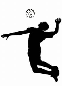 Spike It Volleyball Clipart
