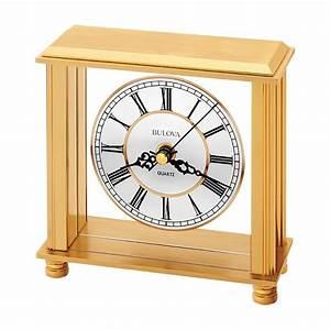 Bulova, Cheryl, Table, Clock, Model, B1703