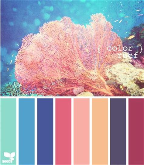 coral reef color color a collection of design ideas to try color pallets