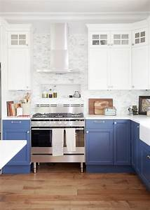best 25 blue white kitchens ideas on pinterest blue and With kitchen cabinet trends 2018 combined with ebc sticker