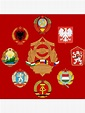 """""""Warsaw Pact"""" Poster by Devotee1973   Redbubble"""