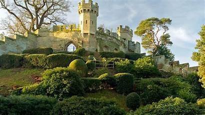Medieval England Desktop Castle Backgrounds Background Warwick