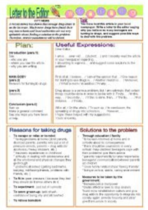 worksheets letter to the editor drugs ecce