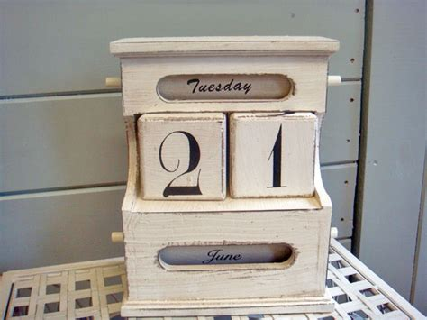 old style wooden desk 35 best images about perpetual calendar on pinterest