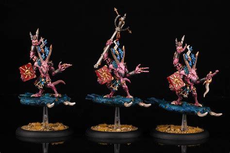 paint herald  tzeentch warhammer  chaos