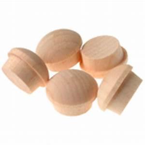 Cacher Vis A Vis Plongeant : cache vis bouton en bois rona ~ Melissatoandfro.com Idées de Décoration