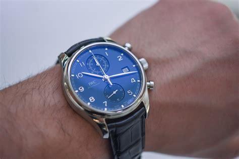 iwc chronograph silver on iwc portugieser chronograph classic 2017