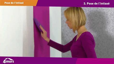 comment poser du papier peint intiss 233