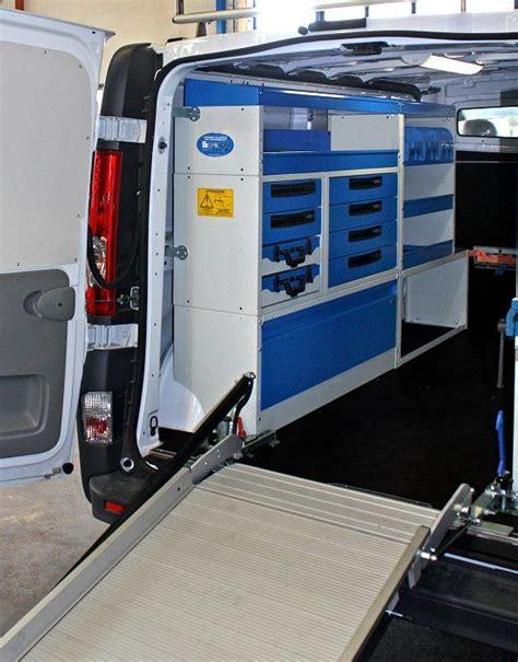 scaffali per furgoni usati furgone officina da syncro system