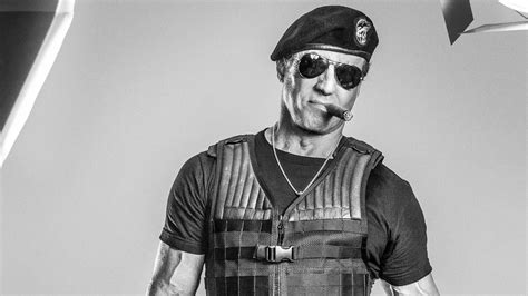 full hd wallpaper  expendables black  white cigar