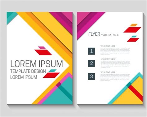 Colorful Brochure Templates by Colorful Brochure Design Brickhost Aa2bff85bc37