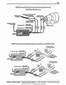 Msd  Wiring Diagram Vw Simple Honda  Ignition Wiring