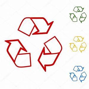 Concepto de logo de reciclaje — Vector de stock ...
