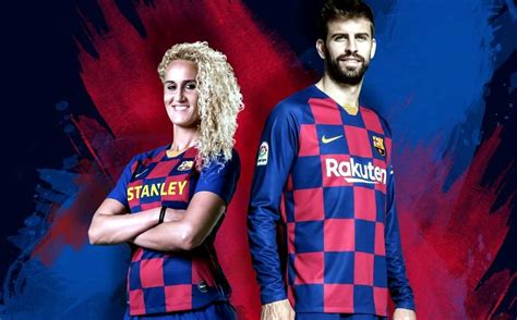 lade da barca barcelona presenta nueva playera a cuadros para temporada