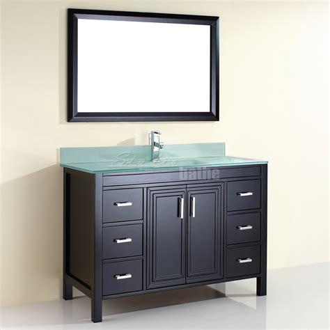 48 inch bathroom vanity studio bathe corniche 48 inch bathroom vanity espresso