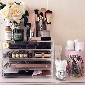 Boite De Rangement Maquillage : 52 id es de rangement make up en photos et vid os ~ Dailycaller-alerts.com Idées de Décoration