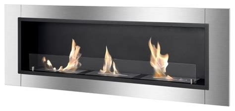 Indoor Biofuel Fireplace - ignis ardella ethanol fireplace recess or wall mounted