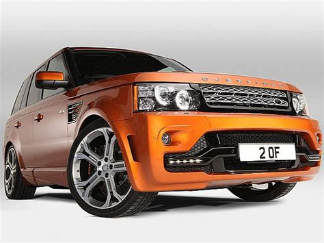 Bmw Full Form In German by Overfinch Gts X Is An Extra Sporty Range Rover Sport W
