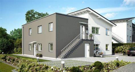 haus mit 2 wohnungen bauen mehrfamilienhaus bauen individuell geplant kern haus