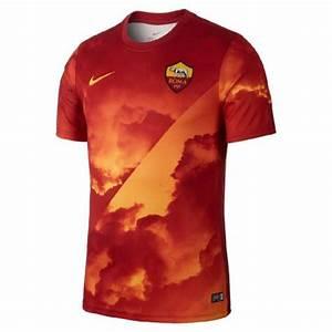 Nike Jersey Size Chart 2019 2020 As Roma Nike Pre Match Training Jersey Gold